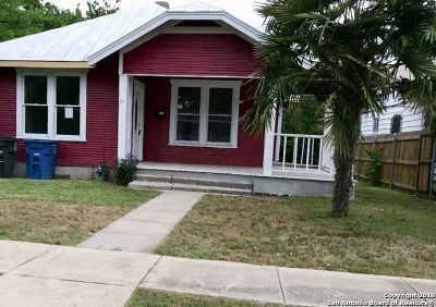 San Antonio Single Family Home For Sale: 153 Linares St
