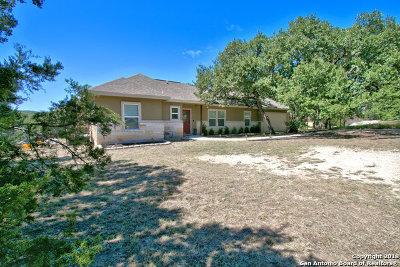 Canyon Lake Single Family Home Active Option: 2043 Rocky Ridge Loop