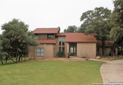 Fair Oaks Ranch Single Family Home Active Option: 8662 Terret Circle