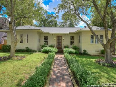 San Antonio Single Family Home Price Change: 310 Brahan Blvd