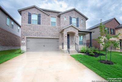 San Antonio Single Family Home Price Change: 2166 Abadeer Trail