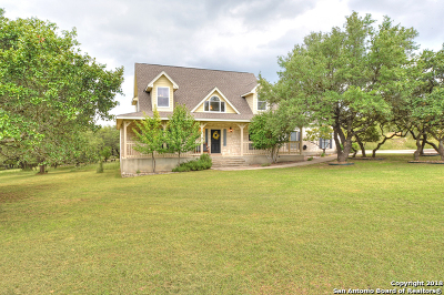 Boerne Single Family Home For Sale: 102 Kendall View Dr