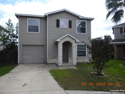 Bexar County Single Family Home For Sale: 326 Coriander Bend
