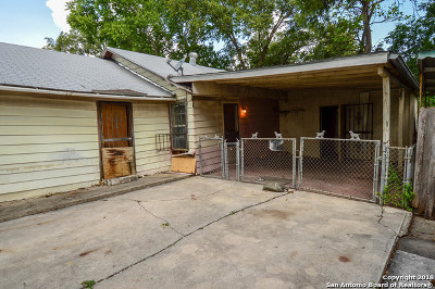 San Antonio Single Family Home For Sale: 1723 Saltillo St