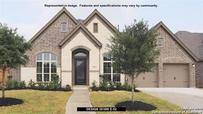 Boerne Single Family Home For Sale: 104 Coldwater Creek