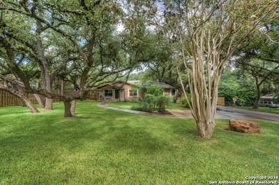 Bexar County Single Family Home For Sale: 8473 Indian Hills Ln