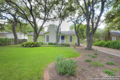 Alamo Heights Rental For Rent: 144 W Edgewood Pl