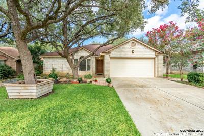 Bexar County Single Family Home Active Option: 11835 Adriana Maria
