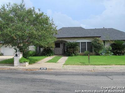 San Antonio Single Family Home Back on Market: 3638 Hunters Sound St