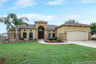 New Braunfels Single Family Home Active Option: 1229 Nickel Creek
