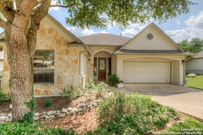 Heights At Stone Oak Single Family Home For Sale: 24707 Garden Way