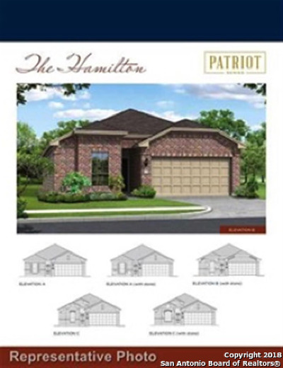 Schertz Single Family Home For Sale: 12466 Belfort Pt.
