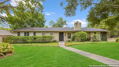 Terrell Hills Single Family Home For Sale: 1004 Wiltshire Ave