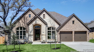 Boerne Single Family Home Price Change: 132 Boulder Creek