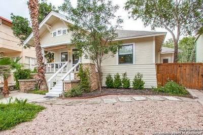 Alamo Heights Single Family Home For Sale: 638 Patterson Ave