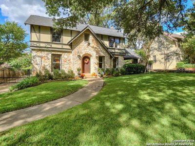San Antonio Single Family Home For Sale: 105 Ridgemont Ave