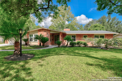 San Antonio Single Family Home Active Option: 211 Five Oaks Dr