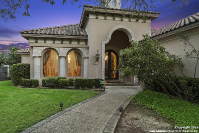 San Antonio Single Family Home For Sale: 20006 Messina