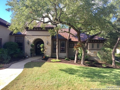Boerne Single Family Home Price Change: 27603 Oak Brook Way