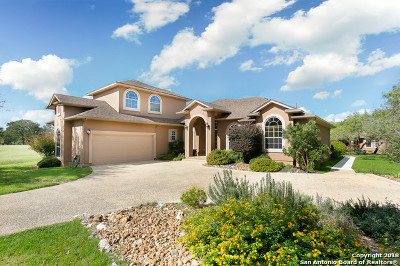Boerne Single Family Home For Sale: 30114 Fairway Vista Dr