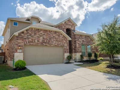 San Antonio Single Family Home Price Change: 12434 Caprock Creek