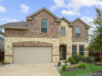 Bulverde Single Family Home For Sale: 31909 Cast Iron Cove