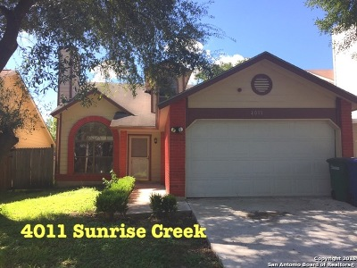Single Family Home Price Change: 4011 Sunrise Creek Dr