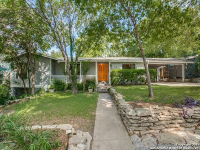 Alamo Heights TX Single Family Home For Sale: $599,000