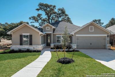 Boerne Single Family Home New: 104 Cordova