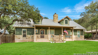 Boerne Single Family Home New: 8635 Flint Rock Dr