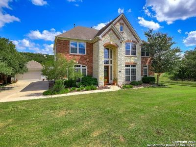 Boerne Single Family Home New: 8303 Monument Oak
