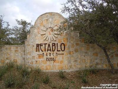 Helotes Residential Lots & Land For Sale: 14342 Santa Rita