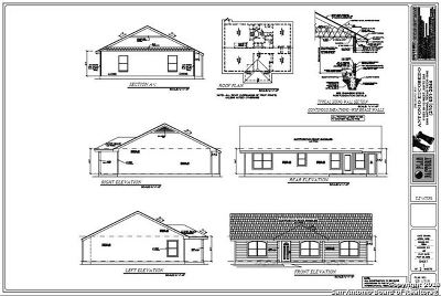 Bexar County Single Family Home New: 13718 Turtle Cross