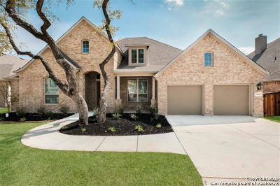 Boerne Single Family Home Back on Market: 28822 Porch Swing