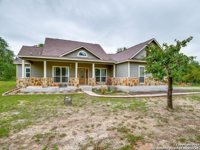 Atascosa County Single Family Home New: 363 Clear Lake Loop