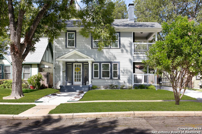 San Antonio Single Family Home Active Option: 435 W Gramercy Pl