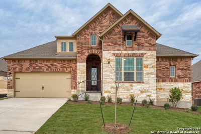 Bexar County Single Family Home Price Change: 28815 Cherry Valley
