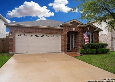 Helotes Single Family Home New: 8750 Sonora Pass