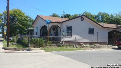 San Antonio Single Family Home For Sale: 3140 W Martin St
