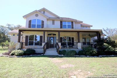 Canyon Lake Single Family Home Price Change: 126 Jackson Creek