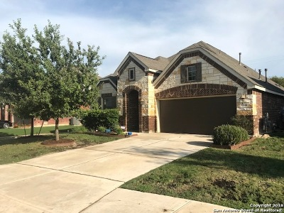 Schertz Single Family Home Price Change: 11648 Northern Star Rd
