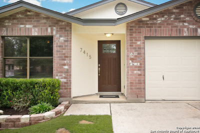 San Antonio TX Single Family Home Active Option: $195,000