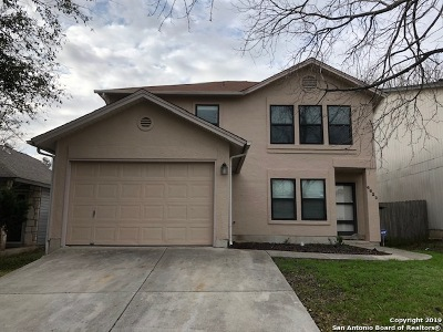 Converse Single Family Home New: 6822 Cape Meadow Dr