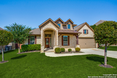 Bexar County Single Family Home Active Option: 11703 Camp Real Ln