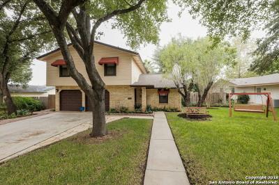 San Antonio Single Family Home New: 13711 Landmark Hill