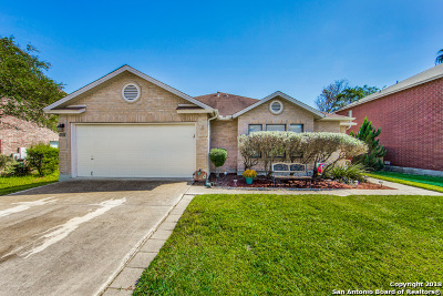 Schertz Single Family Home New: 1551 Jasmine