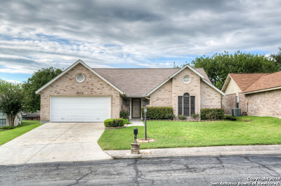 Schertz Single Family Home Active Option: 3616 Fox Run