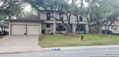 Single Family Home For Sale: 8911 Shady Winds