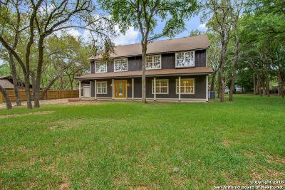 San Antonio Single Family Home New: 8806 Shoshoni Trl