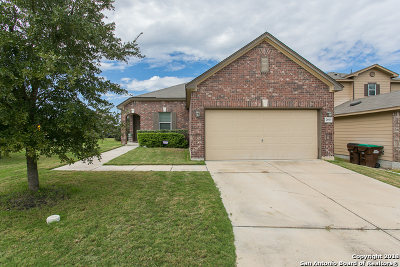 Converse Single Family Home New: 7403 Hawk Mtn